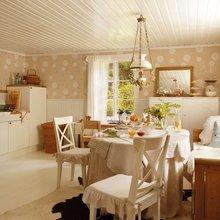 Фотография: Кухня и столовая в стиле Кантри, Скандинавский, Дом, Дома и квартиры, IKEA, Дача – фото на InMyRoom.ru