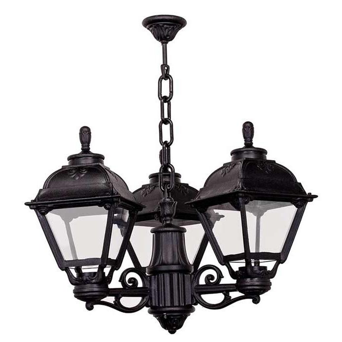 Уличный подвесной светильник Fumagalli Sichem/Cefa с корпусом из современного композитного полимера