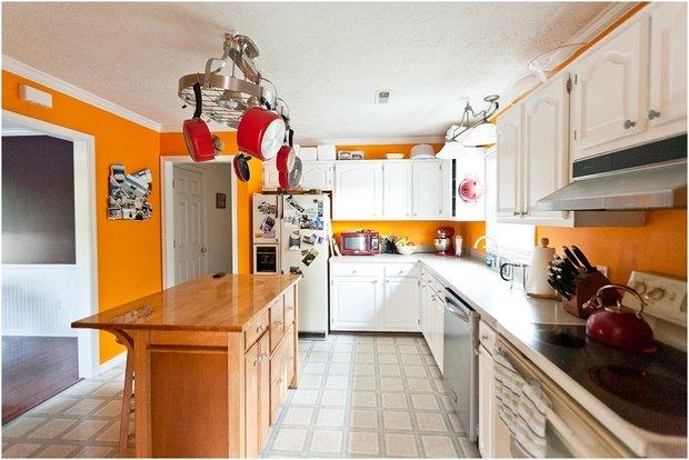 Фотография: Кухня и столовая в стиле Лофт, Современный, Декор интерьера, Дизайн интерьера, Цвет в интерьере, Советы, Ремонт – фото на InMyRoom.ru