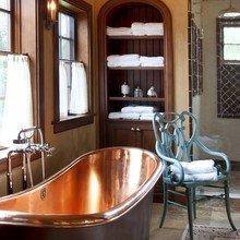 Фотография: Ванная в стиле Кантри, Декор интерьера, Аксессуары, Декор, Мебель и свет – фото на InMyRoom.ru