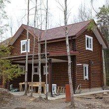 Фото из портфолио Деревянные дома – фотографии дизайна интерьеров на InMyRoom.ru