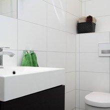 Фотография: Ванная в стиле Современный, Скандинавский, Квартира, Швеция, Дома и квартиры – фото на InMyRoom.ru
