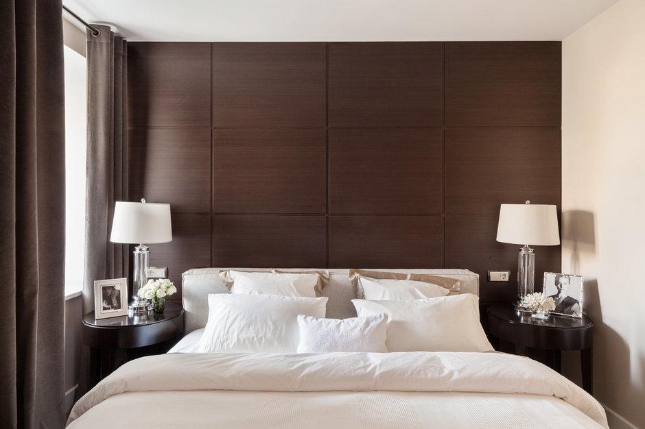 Фотография: Спальня в стиле Современный, Восточный, Классический, Квартира, Дома и квартиры, IKEA, Проект недели, Дина Салахова – фото на InMyRoom.ru