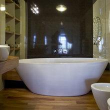 Фото из портфолио Квартира на мандсарде – фотографии дизайна интерьеров на INMYROOM