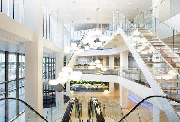 Фотография: Мебель и свет в стиле , Офисное пространство, Офис, Дома и квартиры, Проект недели – фото на InMyRoom.ru