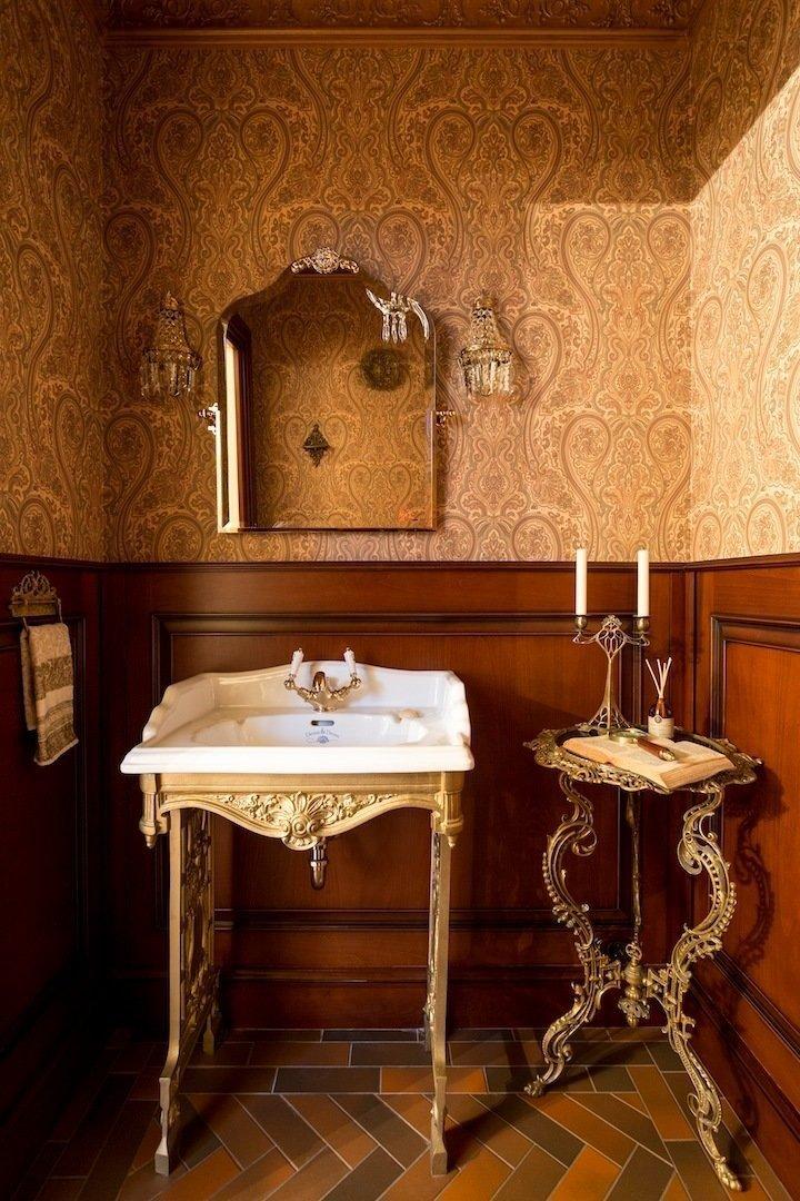 Фотография: Ванная в стиле Прованс и Кантри, Дом, Дома и квартиры – фото на InMyRoom.ru