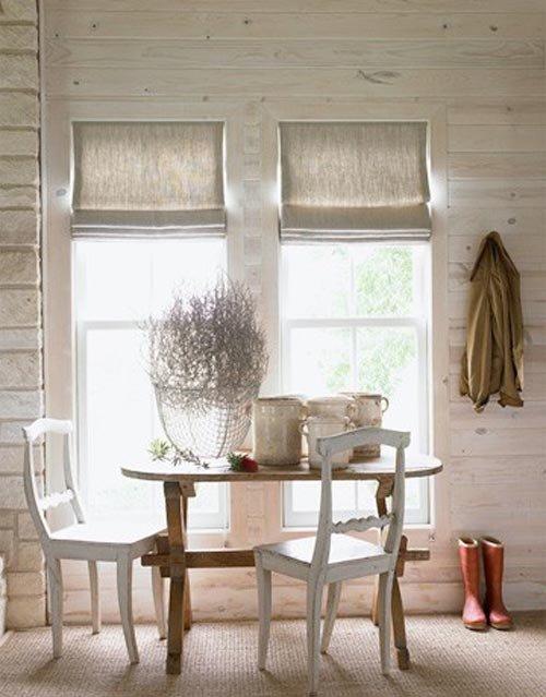 Фотография: Кухня и столовая в стиле Скандинавский, Декор интерьера, Текстиль, Окна – фото на InMyRoom.ru