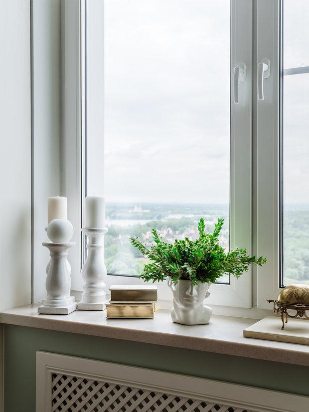 Фотография: Декор в стиле Классический, Современный, Квартира, Проект недели, Красногорск, Монолитный дом, 2 комнаты, 60-90 метров, Лина Савина – фото на INMYROOM