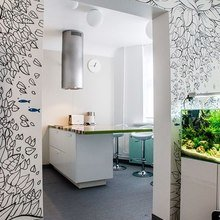 Фотография: Кухня и столовая в стиле Современный, Интерьер комнат, Elle Decoration – фото на InMyRoom.ru