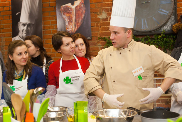 Фотография:  в стиле , Еда, Индустрия, События, Кулинарная студия Clever, Кулинария – фото на InMyRoom.ru
