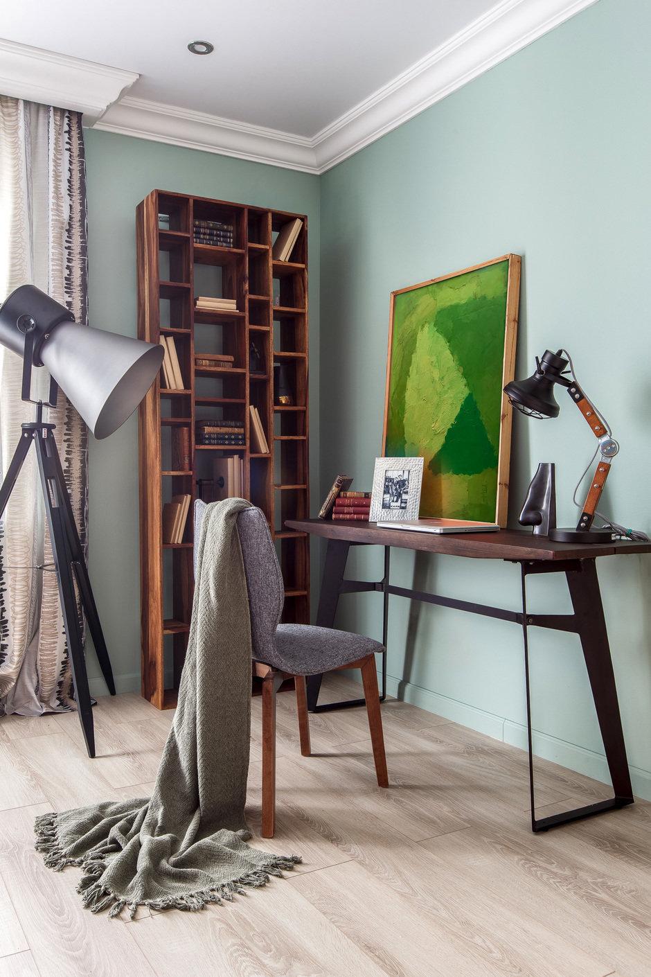 Фотография: Кабинет в стиле Современный, Квартира, Проект недели, Монолитный дом, 3 комнаты, 60-90 метров, Саратов, Quadrum Studio – фото на InMyRoom.ru
