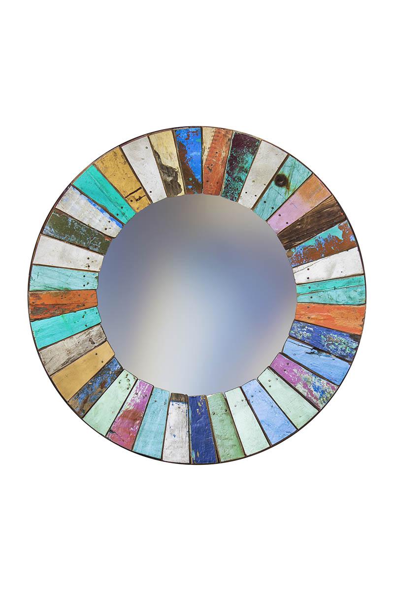 Купить Зеркало круглое колобок, inmyroom, Индонезия