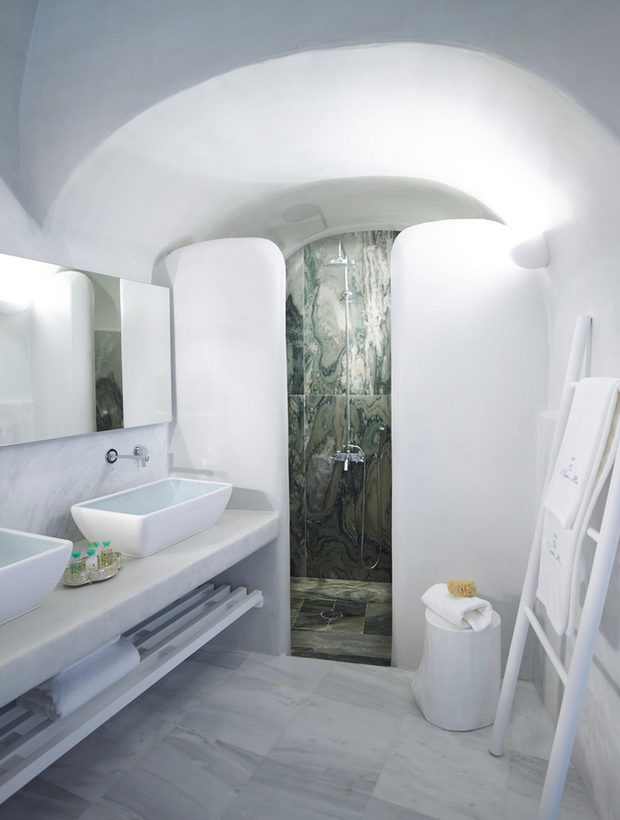 Фото из портфолио Люкс в пещере на греческом острове Санторини – фотографии дизайна интерьеров на INMYROOM