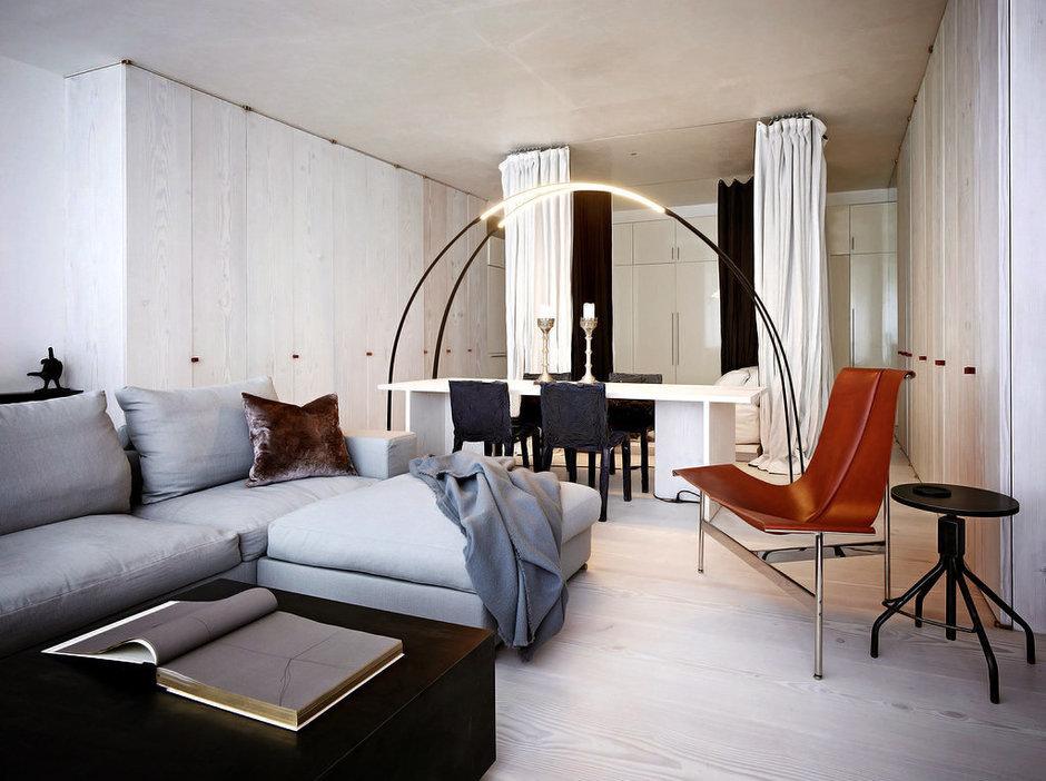 Фотография: Гостиная в стиле , Декор интерьера, Квартира, Дома и квартиры, Минимализм, Нью-Йорк – фото на InMyRoom.ru
