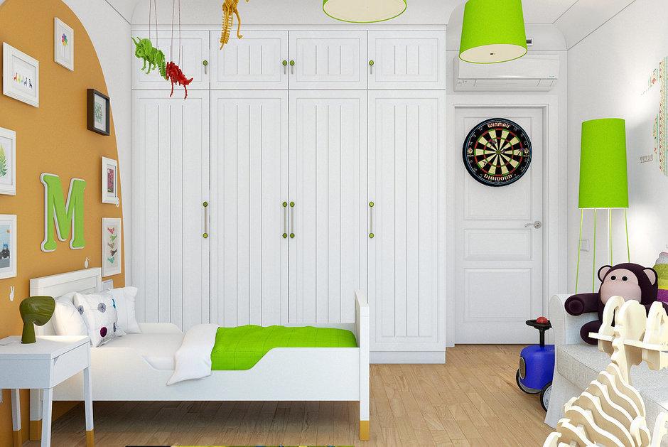 Фотография: Детская в стиле Современный, Лофт, Квартира, Дома и квартиры – фото на InMyRoom.ru