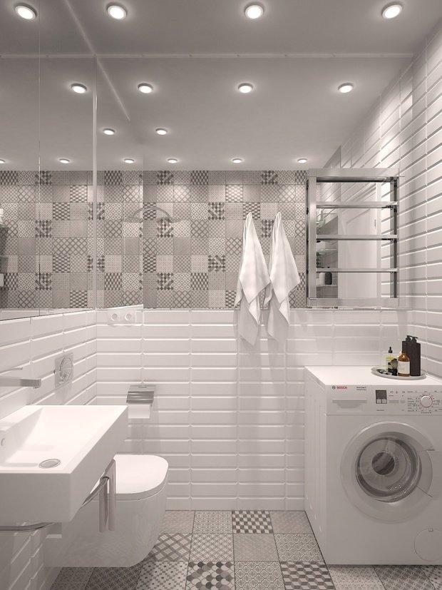 Фото из портфолио Светлая квартира студия  – фотографии дизайна интерьеров на INMYROOM