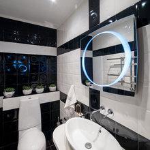 Фотография: Ванная в стиле Современный, Хай-тек, Декор интерьера, Квартира, Дома и квартиры – фото на InMyRoom.ru