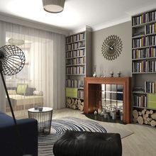 Фото из портфолио Гостиная для книголюбов – фотографии дизайна интерьеров на INMYROOM