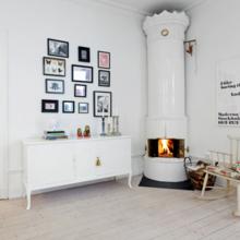 Фотография: Мебель и свет в стиле Скандинавский, Малогабаритная квартира, Квартира, Цвет в интерьере, Дома и квартиры, Белый – фото на InMyRoom.ru