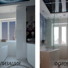 Фото из портфолио Ванная Зодиак – фотографии дизайна интерьеров на INMYROOM