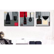 Модульная картина от дизайнера: Столовый авангард