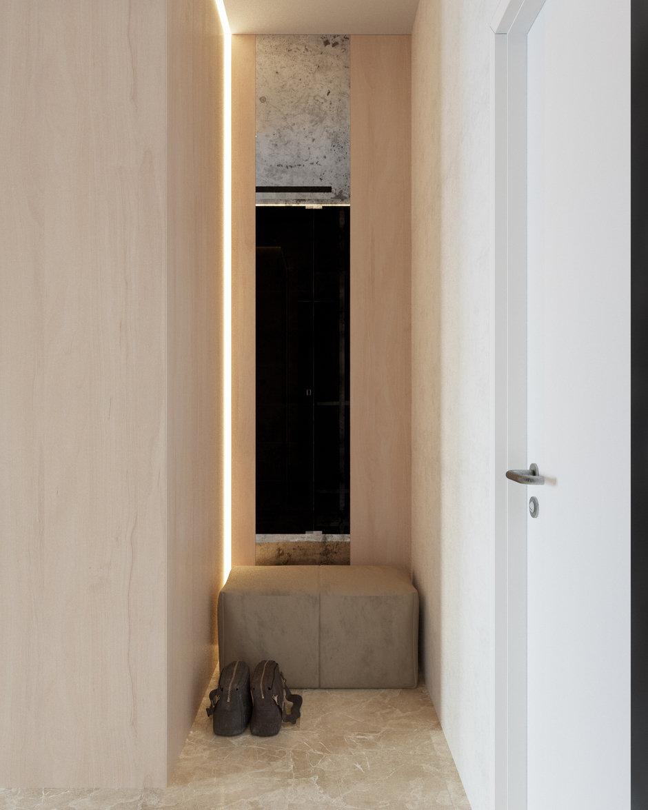 Фотография: Прихожая в стиле Современный, Квартира, Студия, Минимализм, Проект недели, Монолитный дом, 40-60 метров, Батуми, Грузия, VAE design & architecture – фото на InMyRoom.ru