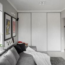 Фотография: Гостиная в стиле Современный, Малогабаритная квартира, Квартира, Дома и квартиры, IKEA, Проект недели – фото на InMyRoom.ru