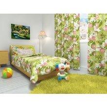 """Покрывало на кровать """"Зеленая полянка"""""""