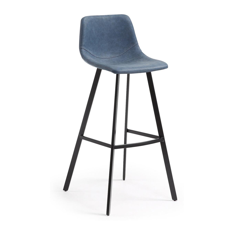 Барный стул Julia Grup Andi темно-синий