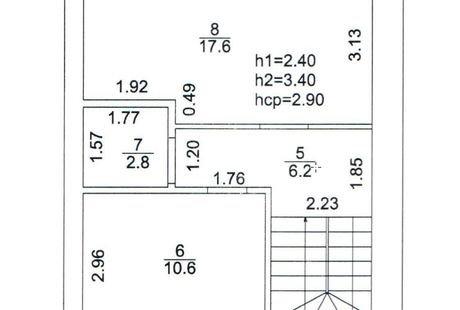 Загородный таунхаус дизайн интерьера 80 кв.м г.Уфа