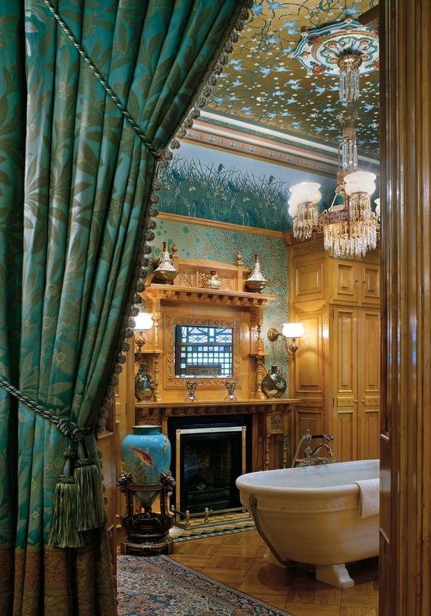 Фотография: Ванная в стиле Прованс и Кантри, Восточный, Декор интерьера, Интерьер комнат, Викторианский – фото на InMyRoom.ru