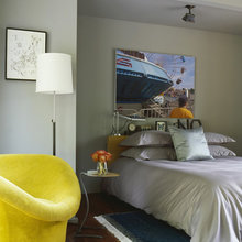 Фотография: Спальня в стиле Лофт, Дом, Дома и квартиры, Минимализм, Дом на природе – фото на InMyRoom.ru