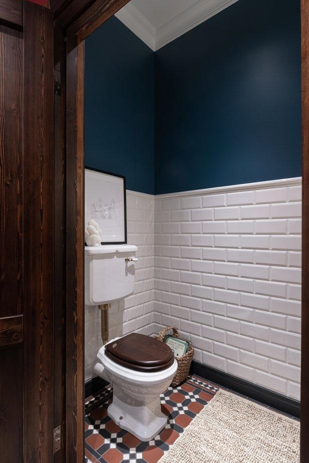 Фотография: Ванная в стиле Скандинавский, Лофт, Квартира, Студия, Перепланировка, VizDiz – фото на INMYROOM