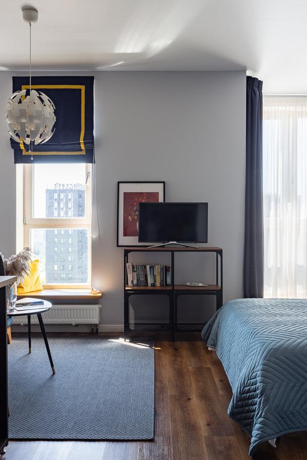 Фотография: Спальня в стиле Современный, Малогабаритная квартира, Студия, Проект недели, Москва, до 40 метров – фото на INMYROOM