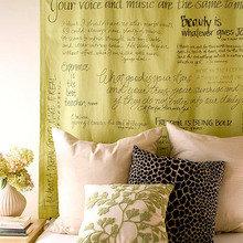 Фотография: Декор в стиле Кантри, Спальня, Декор интерьера, DIY, Кровать – фото на InMyRoom.ru