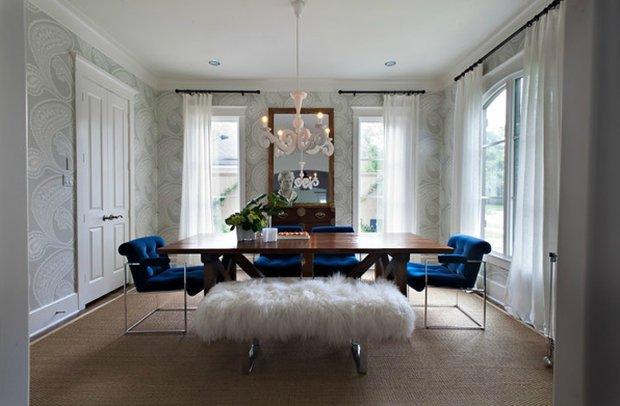 Фотография: Кухня и столовая в стиле Классический, Современный, Эклектика, Декор интерьера, Декор дома, Ковер – фото на InMyRoom.ru