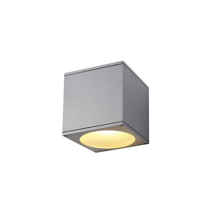 Светильник настенный SLV Big Theo Beam серебристый