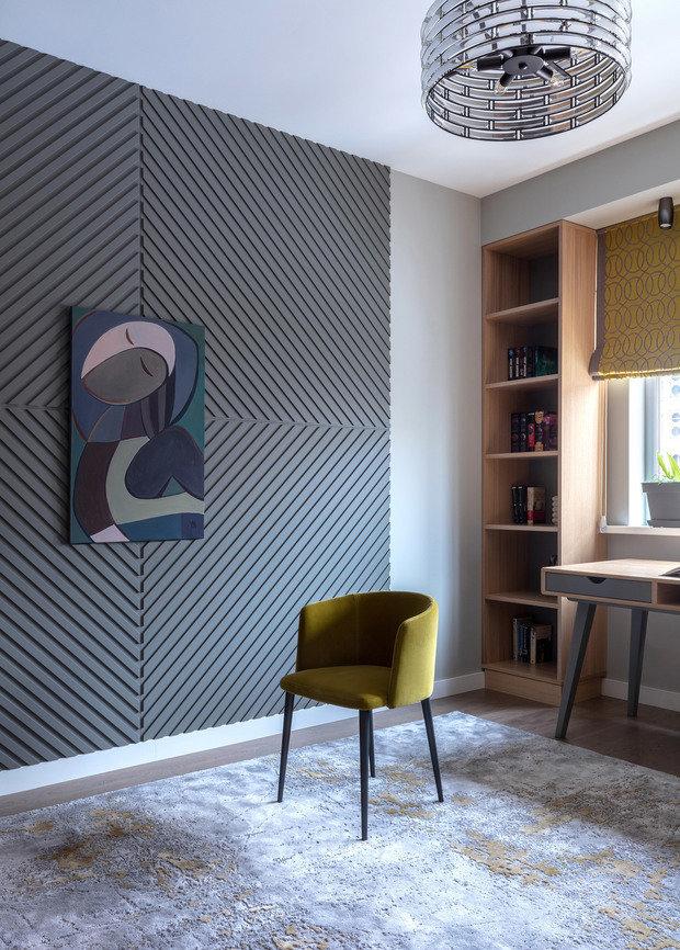 Фото из портфолио Квартира для деловой девушки в г. Алматы – фотографии дизайна интерьеров на INMYROOM