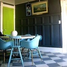Фотография: Кухня и столовая в стиле Кантри, Современный, Декор интерьера, DIY, Дизайн интерьера, Цвет в интерьере, Двери – фото на InMyRoom.ru