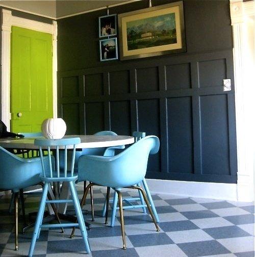 Фотография: Кухня и столовая в стиле Прованс и Кантри, Современный, Декор интерьера, DIY, Дизайн интерьера, Цвет в интерьере, Двери – фото на InMyRoom.ru