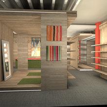 Фото из портфолио эскизы обувного  магазина – фотографии дизайна интерьеров на InMyRoom.ru