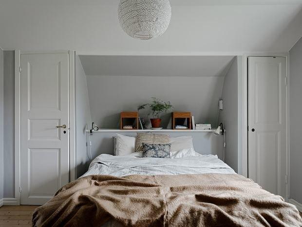 Фотография: Спальня в стиле Скандинавский, Минимализм, Дом и дача, 4 и больше, Более 90 метров – фото на INMYROOM