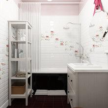 Фотография: Ванная в стиле Лофт, Эклектика, Квартира, Дома и квартиры, IKEA, Проект недели – фото на InMyRoom.ru