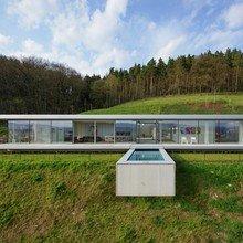 Фото из портфолио Энергоэффективная и стильная вилла в Германии – фотографии дизайна интерьеров на INMYROOM