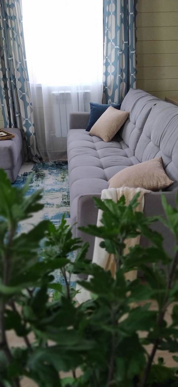 Фото из портфолио Кухня-гостиная 21 кв.м – фотографии дизайна интерьеров на INMYROOM