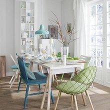 Фотография: Кухня и столовая в стиле Скандинавский, Декор интерьера, Дизайн интерьера, Цвет в интерьере, Белый – фото на InMyRoom.ru
