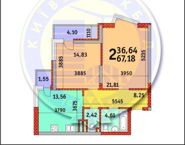 Помогите правильно использовать площадь квартиры.