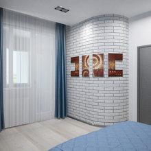 Фото из портфолио Американский лофт с позитивными акцентами 130 кв. м – фотографии дизайна интерьеров на INMYROOM