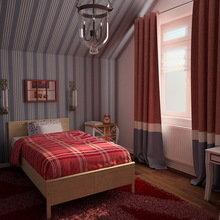 Фото из портфолио Детская комната в английском стиле  – фотографии дизайна интерьеров на InMyRoom.ru