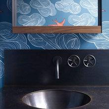 Фотография: Ванная в стиле Кантри, Детская, Эклектика, Квартира, Дома и квартиры, Нью-Йорк – фото на InMyRoom.ru